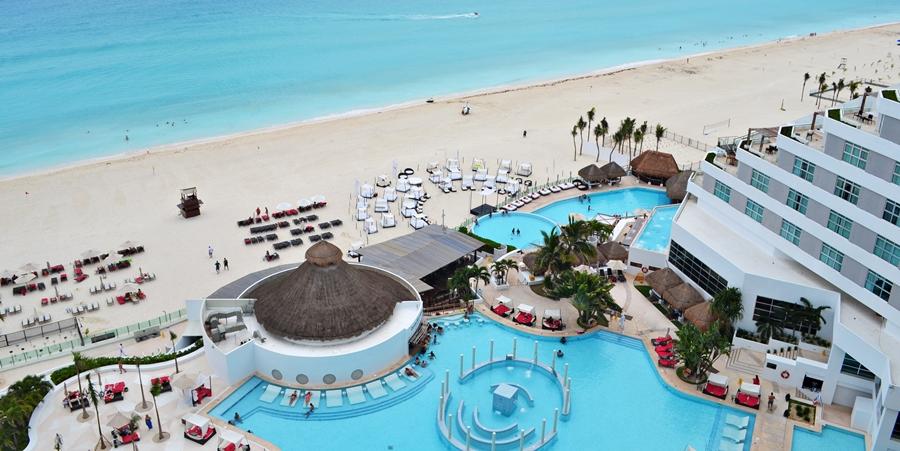Prós e contras de ficar em um resort all inclusive em Cancún