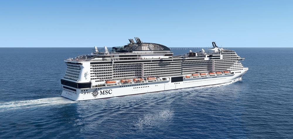 O MSC Meraviglia tem viagens de sete noites pelo Mediterrâneo - Crédito   Divulgação 259921c1285f7