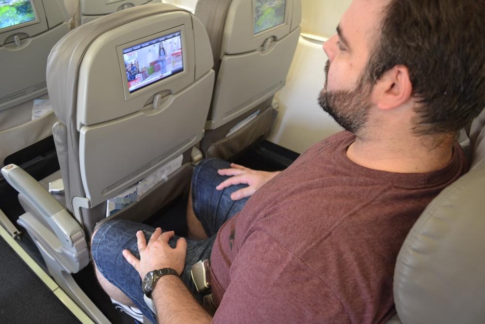 A aviação brasileira acomoda bem os obesos?
